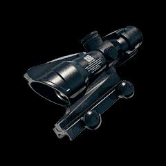 Battlegrounds 4x ACOG scope